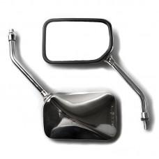 Зеркало CB400SF/750/1300F, CB250/600 Hornet, Shadow 125, CBF500/600/F/N левое, цвет Хром