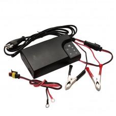 Зарядное устройство для аккумуляторов 12В с дополнительным кабелем