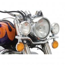 Дополнительные фары (лайтбар) XVS400 Dragstar Classic/ XVS650 V-Star Classic 98-11