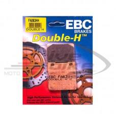 Тормозные колодки FA063HH DOUBLE H Sintered