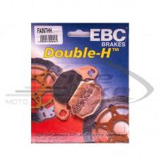 Тормозные колодки FA067HH DOUBLE H Sintered