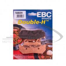 Тормозные колодки FA069/3HH DOUBLE H Sintered