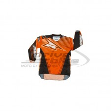 Джерси RAIL JERSEY, цвет Черный/Оранжевый