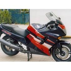 """Ветровое стекло для мотоцикла Touring """"T"""" CBR1000F (SC24) 93-03, цвет Серый"""