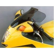 """Ветровое стекло для мотоцикла Spoiler """"S"""" CBR1100XX (SC35) 97-06, цвет Серый"""