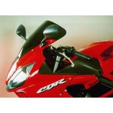 """Ветровое стекло для мотоцикла Racing """"R"""" CBR600F (PC35) 01-10, цвет Серый"""