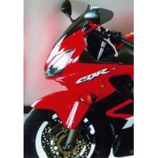 """Ветровое стекло для мотоцикла Spoiler """"S"""" CBR600F (PC35) 01-10, цвет Черный"""