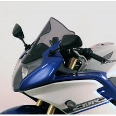 """Ветровое стекло для мотоцикла Racing """"R"""" CBR600F (PC41) 11-, цвет Серый"""