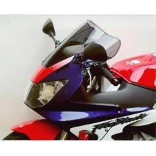 """Ветровое стекло для мотоцикла Racing """"R"""" CBR900RR CBR929RR (SC44) 00-01, цвет Серый"""