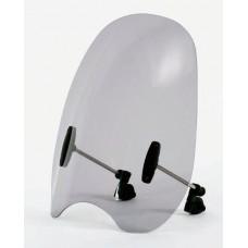 """Ветровое стекло для мотоцикла Customshield """"CU"""", цвет Серый"""