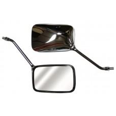 Зеркало CB400SF/750/1300, CB250/600F Hornet, CBF500/600/F/N левое, цвет Карбон