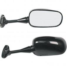 Зеркало CBR600F 99-06 RVT1000R 00-06 VTR1000SP-1/2 левое, цвет Карбон