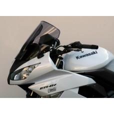"""Ветровое стекло для мотоцикла Racing """"R"""" ER-6F (EX650C) 09-11, цвет Серый"""