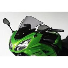 """Ветровое стекло для мотоцикла Racing """"R"""" ER-6F (EX650E) 12-, цвет Серый"""