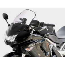 """Ветровое стекло для мотоцикла Racing """"R"""" ER-6F (EX650A) 06-08, цвет Серый"""