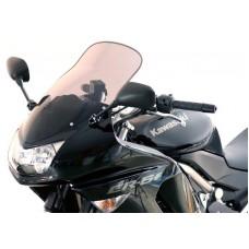 """Ветровое стекло для мотоцикла Touring """"T"""" ER-6F (EX650A) 06-08, цвет Серый"""