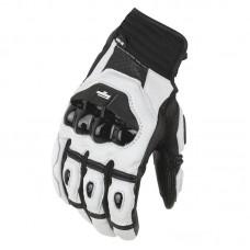Перчатки AFS 6 кожа, цвет Черный/Белый