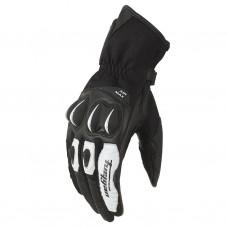 Перчатки AERO кожа, цвет Черный/Белый