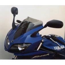"""Ветровое стекло для мотоцикла Spoiler """"S"""" FZS600 Fazer (RJ02) 02-03, цвет Серый"""