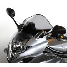 """Ветровое стекло для мотоцикла Racing """"R"""" GSF650S (WVCZ) 09-, цвет Серый"""
