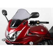 """Ветровое стекло для мотоцикла Racing """"R"""" GSF1200S Bandit 06, GSF1250 Bandit 07-, GSF650S Bandit 05-08, цвет Серый"""