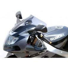 """Ветровое стекло для мотоцикла Spoiler """"S"""" GSX-R1000 01-02, GSX-R750 00-03, GSX-R600 01-03, цвет Черный"""