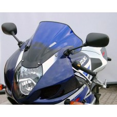 """Ветровое стекло для мотоцикла Racing """"R"""" GSX-R1000 (WVBZ) 03-04, цвет Черный"""