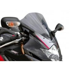 """Ветровое стекло для мотоцикла Racing """"R"""" GSX-R1000 (WVB6) 05-06, цвет Серый"""