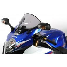 """Ветровое стекло для мотоцикла Racing """"R"""" GSX-R1000 (WVCL) 07-08, цвет Черный"""