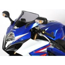 """Ветровое стекло для мотоцикла Spoiler """"S"""" GSX-R1000 (WVB6) 05-06, цвет Серый"""
