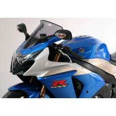 """Ветровое стекло для мотоцикла Spoiler """"S"""" GSX-R1000 (WVCY) 09-, цвет Серый"""
