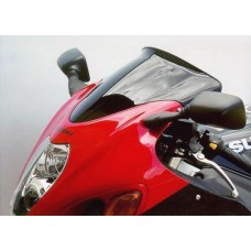 """Ветровое стекло для мотоцикла Spoiler """"S"""" GSX-R1300 Hayabusa (WVA1) 99-07, цвет Серый"""