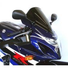 """Ветровое стекло для мотоцикла Racing """"R"""" GSX-R600 / GSX-R750 06-07, цвет Серый"""
