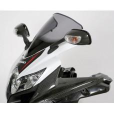 """Ветровое стекло для мотоцикла Racing """"R"""" GSX-R600 / GSX-R750 08-10, цвет Серый"""