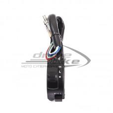 Переключатель рулевой Universal Headlight/ Kill Switch узкий