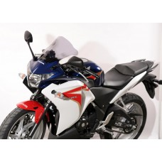 """Ветровое стекло для мотоцикла Racing """"R"""" CBR250R 11-, цвет Серый"""
