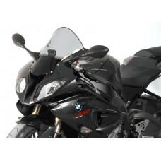 """Ветровое стекло для мотоцикла Racing """"R"""" S1000 RR / HP4, цвет Серый"""