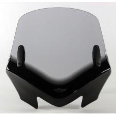 """Ветровое стекло для мотоцикла V-Flow Screen """"Z"""", цвет Серый"""