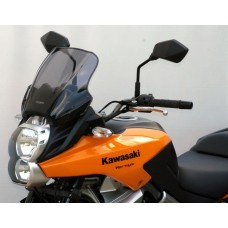 """Ветровое стекло для мотоцикла Touring """"TM"""" Versys 650 10-, цвет Серый"""