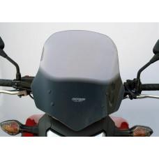 """Ветровое стекло для мотоцикла Touring """"T"""" NC700X 12-, цвет Серый"""