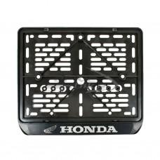 Рамка для номера мотоцикла HONDA