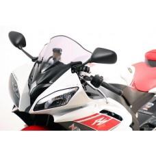 """Ветровое стекло для мотоцикла Racing """"R"""" YZF-R6 (RJ15) 08-, цвет Черный"""