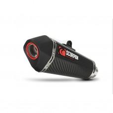 Глушитель VERSYS 650 2013- SERKET TAPER Карбоновый