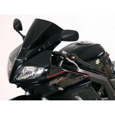 """Ветровое стекло для мотоцикла Racing """"R"""" SV650S 03-, SV1000S 03-, цвет Серый"""