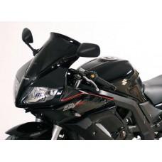 """Ветровое стекло для мотоцикла Spoiler """"S"""" SV650S 03-, SV1000S 03-, цвет Серый"""