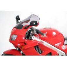 """Ветровое стекло для мотоцикла Touring """"T"""" VFR750F (RC36) 94-97, цвет Серый"""