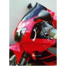 """Ветровое стекло для мотоцикла Spoiler """"S"""" VTR1000SP1 VTR1000SP2 (SC45) 00-06, цвет Серый"""