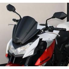 """Ветровое стекло для мотоцикла Racing """"R"""" Z1000 (ZRT00D) 10-, цвет Серый"""