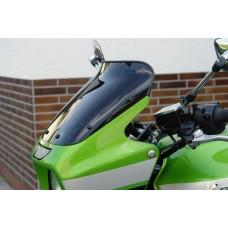 """Ветровое стекло для мотоцикла Spoiler """"S"""" ZRX1100 (ZRT10C) 97-00, ZRX1200 R (ZRT20A) 01-, цвет Серый"""