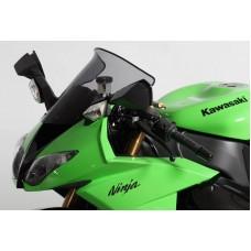"""Ветровое стекло для мотоцикла Spoiler """"S"""" ZX-10R 08-10 (ZXT00E) 08-10, ZX-6R (ZX600R) 09-, цвет Черный"""